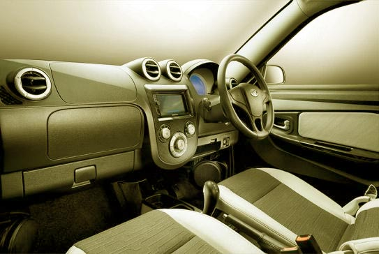 Interior Look of e2o car