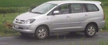 used Used Toyota Innova 2.5V diesel car in latur