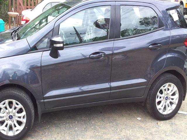 Urgent Sale My Ford Eco Sport Grey Colour Car Used Car