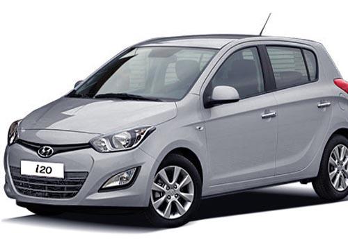 Grey color used Hyundai i20 car in pune