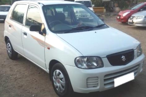 Used alto car in latur city