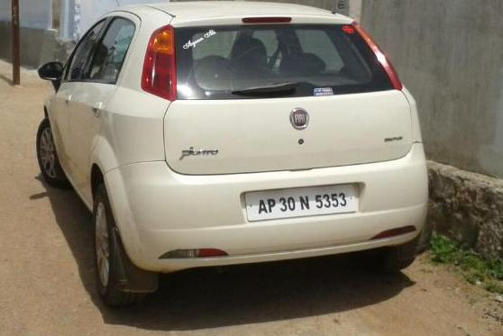 Used Fiat Punto Car For Sale In Hyderabad