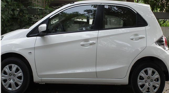 Honda Brio car for sale in hyderabad