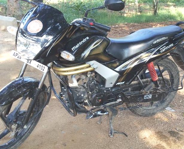 Mahindra Centuro bike in Kompally