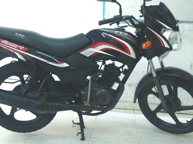 tvs sport bike for sale in cheap price chennai used car in india. Black Bedroom Furniture Sets. Home Design Ideas