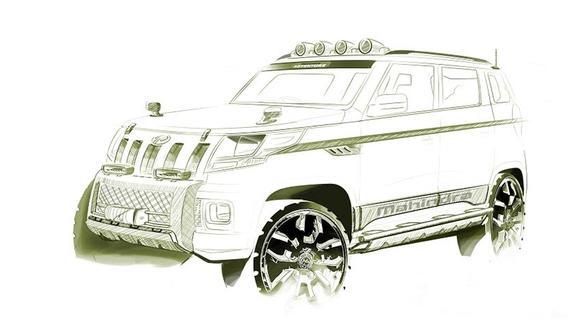 Mahindra TUV3OO car hd pic