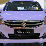 New Maruti Ertiga Hybrid car