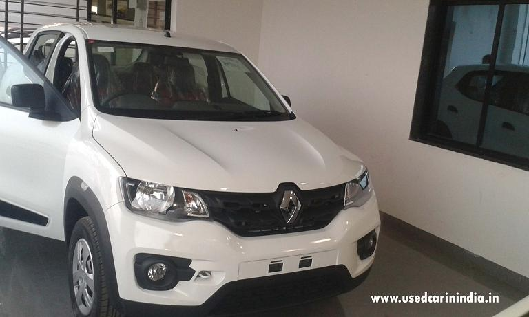 Renault Kwid Car White Used Car In India