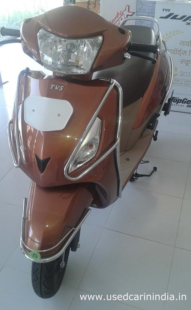 Tvs Jupiter Zx New Look Appear In The Market Used Car In