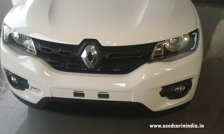 kwid car front engine look