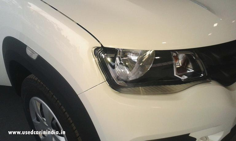 kwids car front lamp hd pic