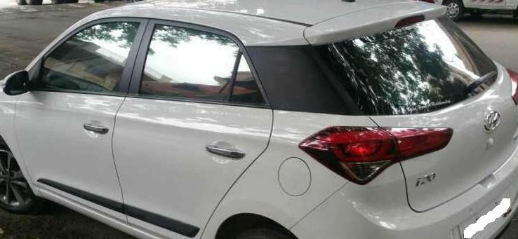 I20 Car Elite White Color