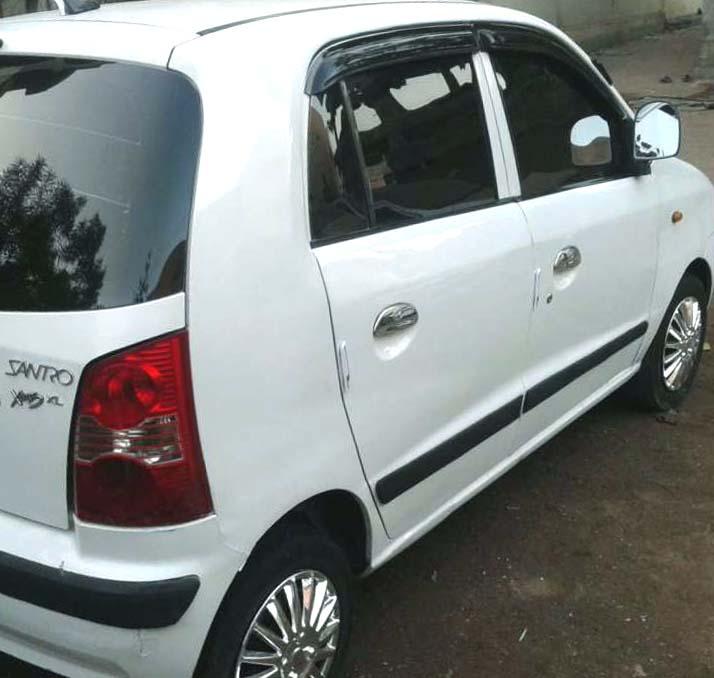 Cheap CNG santro car - Rajkot - Used Car In India